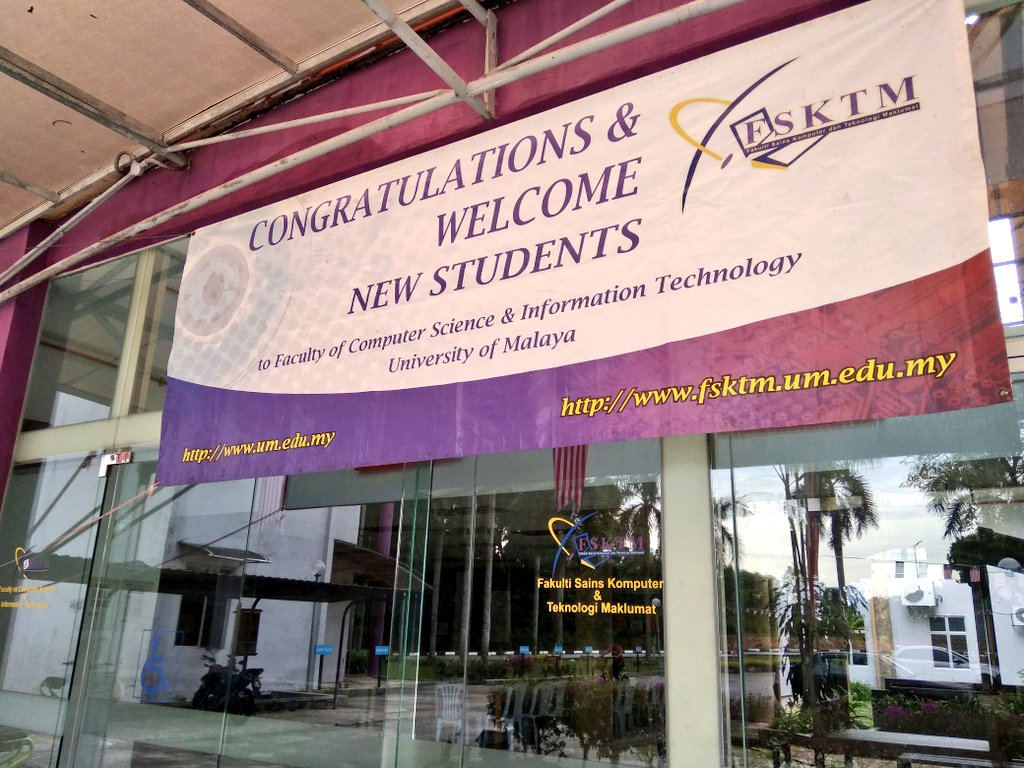 Universiti Malaya On Twitter Well To Those Who Have Been Accepted To Our Faculty Of Computer Science Information Technology See You This Sunday Mhsum1819 Https T Co 1jdwat2rx2