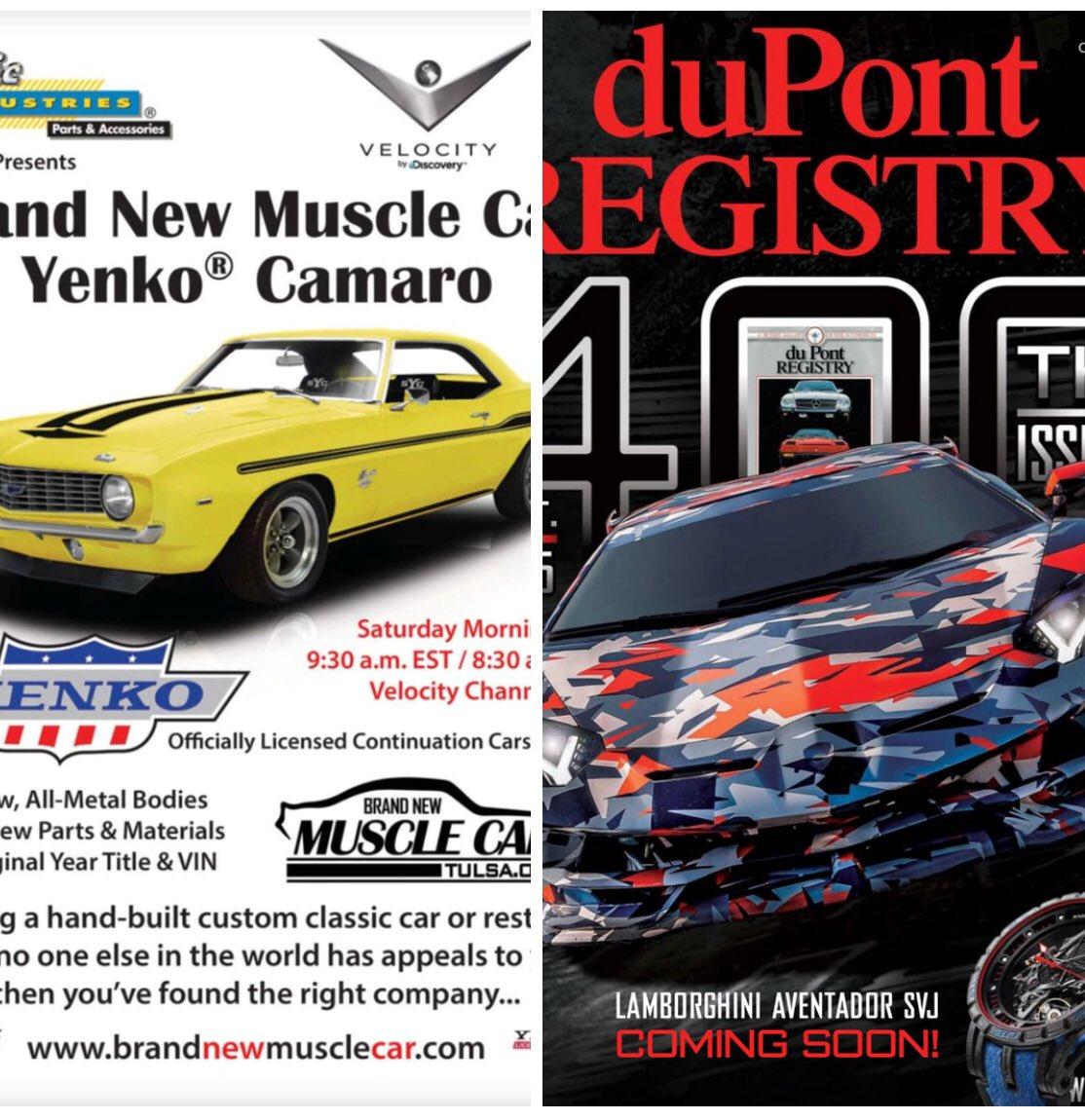 David W Miller Ii On Twitter Dupont Registry Magazine October 2018