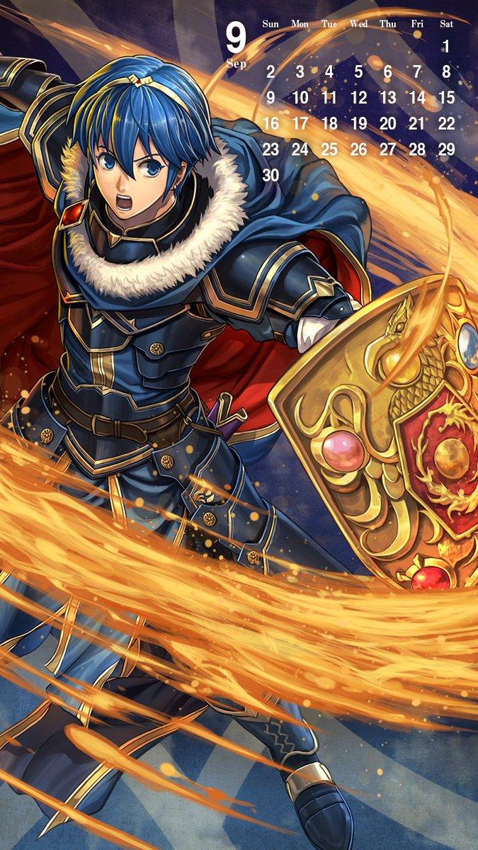 Download Fire Emblem Heroes September 2018 Smartphone Wallpaper