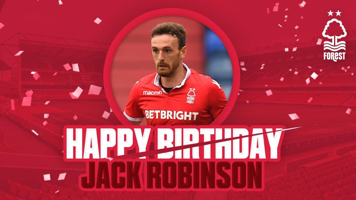 🎈 Happy birthday Jack Robinson!  #NFFC #ThatLovingFeeling