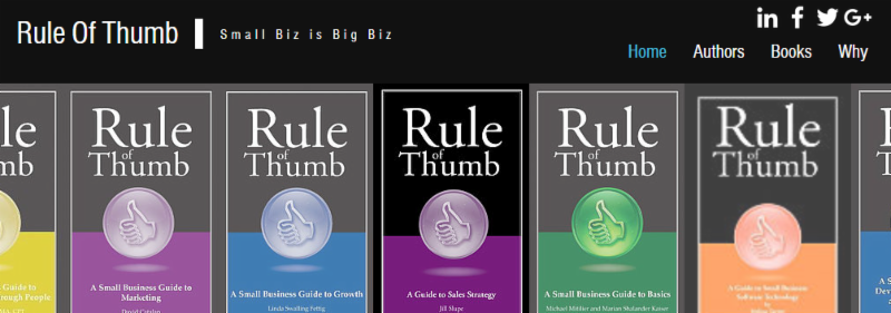 As a rule of thumb website