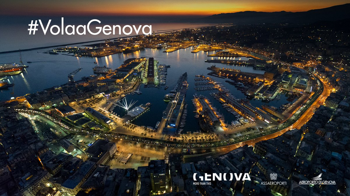 Genova ti aspetta con il suo patrimonio Unesco, il suo Centro Storico, le sue mostre, i suoi vicoli, i suoi sapori   http:// www.visitgenoa.it/  #VolaaGenova #Genovamorethanthis Aiutiamo Genova a promuovere  la città e il territorio dopo la tragedia di  #PonteMorandi!  - Ukustom