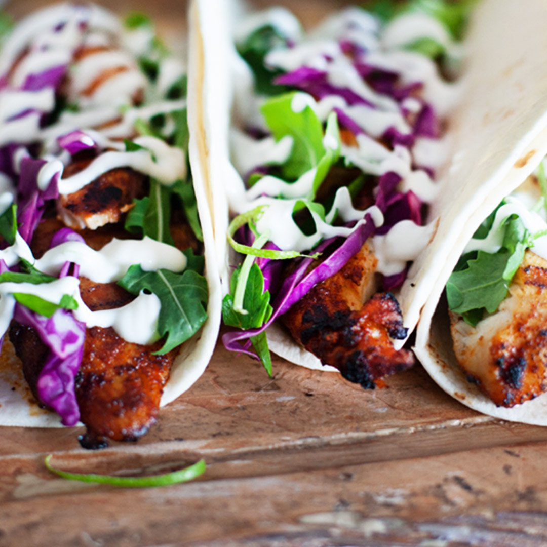 Check Out This Week's Mexican Inspired Grilled Tilapia Tacos with Lime Crema, Enjoy! 🌮🥗 #NapoleonGrill #BBQ #recipes https://t.co/FpMFCx10Ou