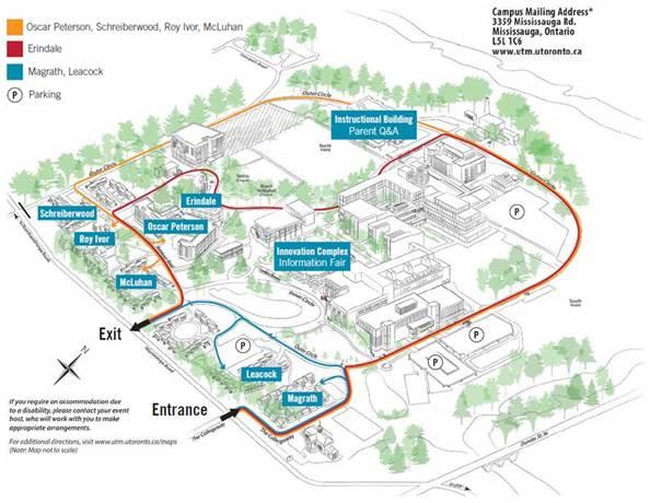 U O F T Campus Map.U Of T Mississauga On Twitter Sat Sept 1 Is Undergrad