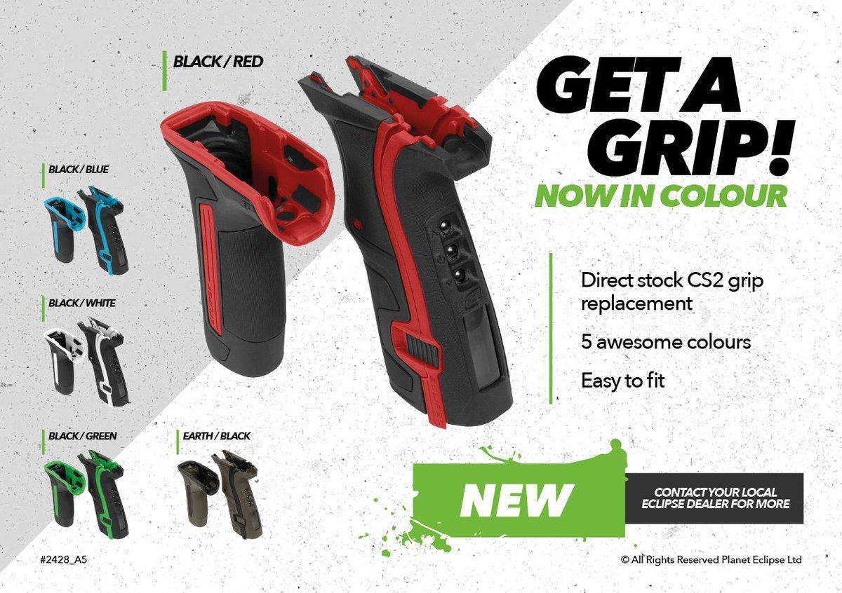 Planet Eclipse Grip Kit Red CS2