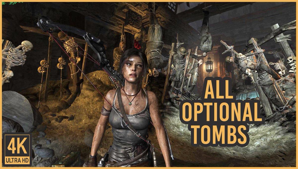 4k No Hud Gameplays On Twitter Tomb Raider All 8 Challenge