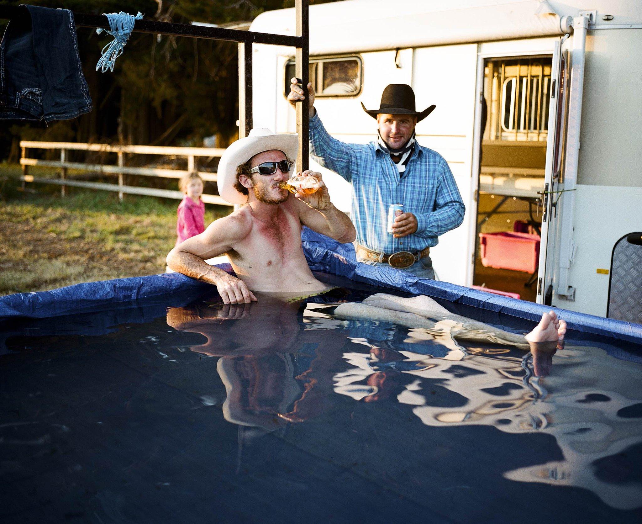 Photos of the dangerous, tight-knit world of Australian rodeo: https://t.co/Y1UskZdg1M https://t.co/ygKLa5Rifr