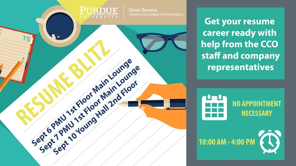 Get Your Resume Reviewed | Purdue Cco On Twitter Preparing For An Upcoming Career Fair Get
