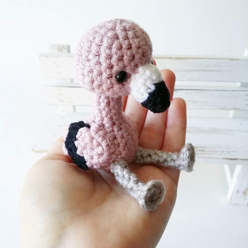 My Flamingo Amigurumi Pattern Is Now Available For Free On My