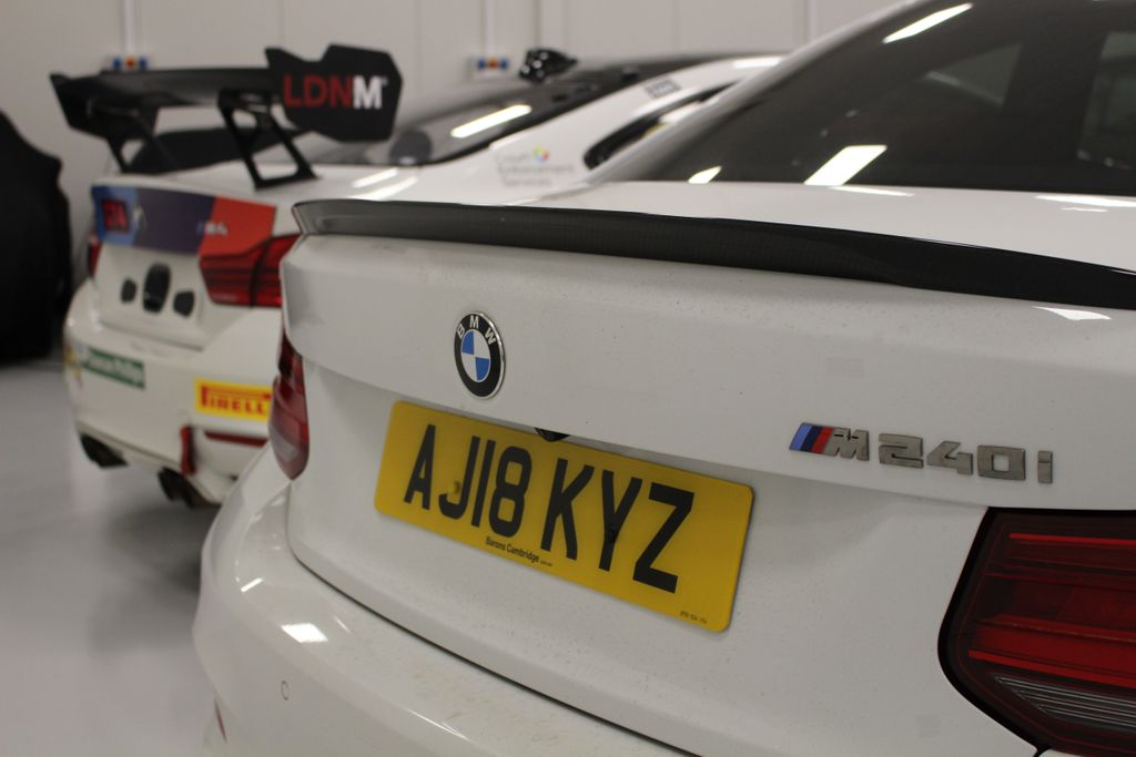 Perhaps the two best looking rears on the road?? Our Barons @CambridgeBMW M240i together with our @Century_Msport @BMWMotorsport BMW M4 GT4... they meet again at @BritishGT Donington.... will you be there??  #TeamBTR #ultimatedrivingmachine #BMW #doningtondecider