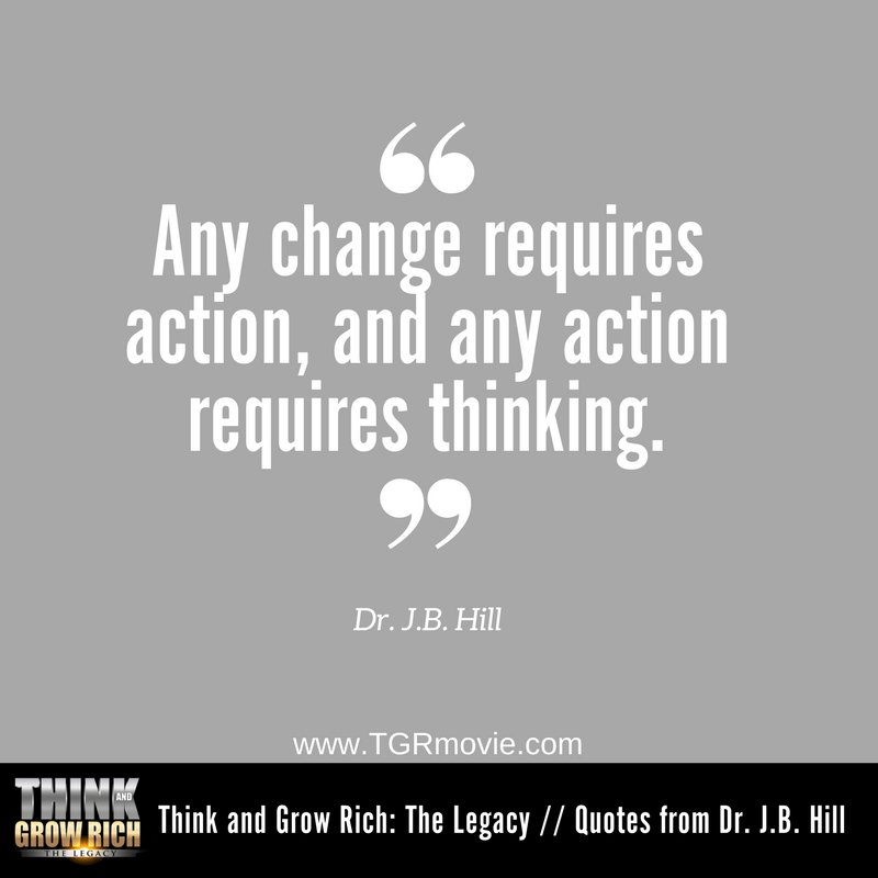 Think And Grow Rich On Twitter THINK Then TAKE ACTION Inspiration Think And Grow Rich Quotes