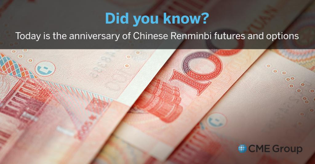 Cmegroup On Twitter Learn More About Chinese Renminbi And