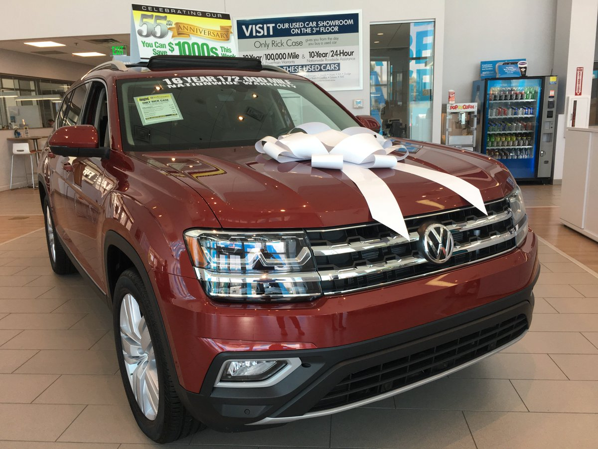 Rick Case Volkswagen On Twitter Take This Beauty For A Spin At Vw Atlas Sel V6 Southflorida Floridacars