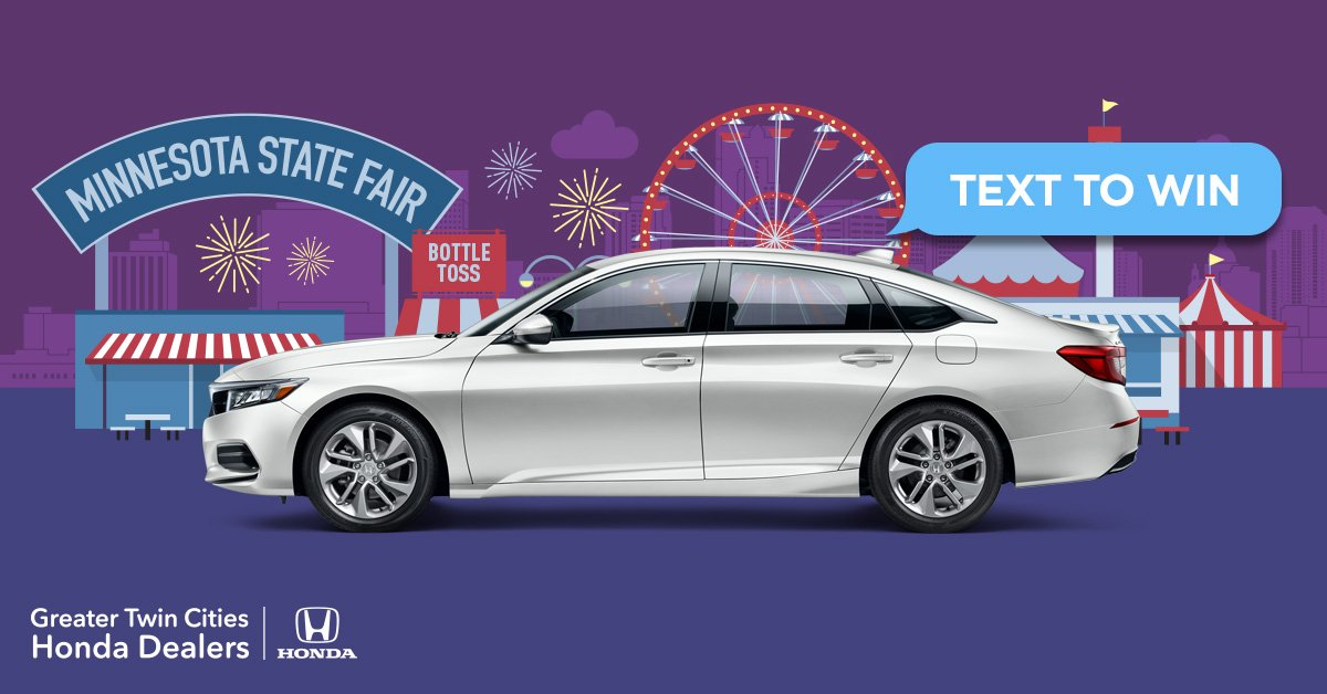 Twin City Honda >> Greater Twin Cities Honda Dealers On Twitter The Minnesota State