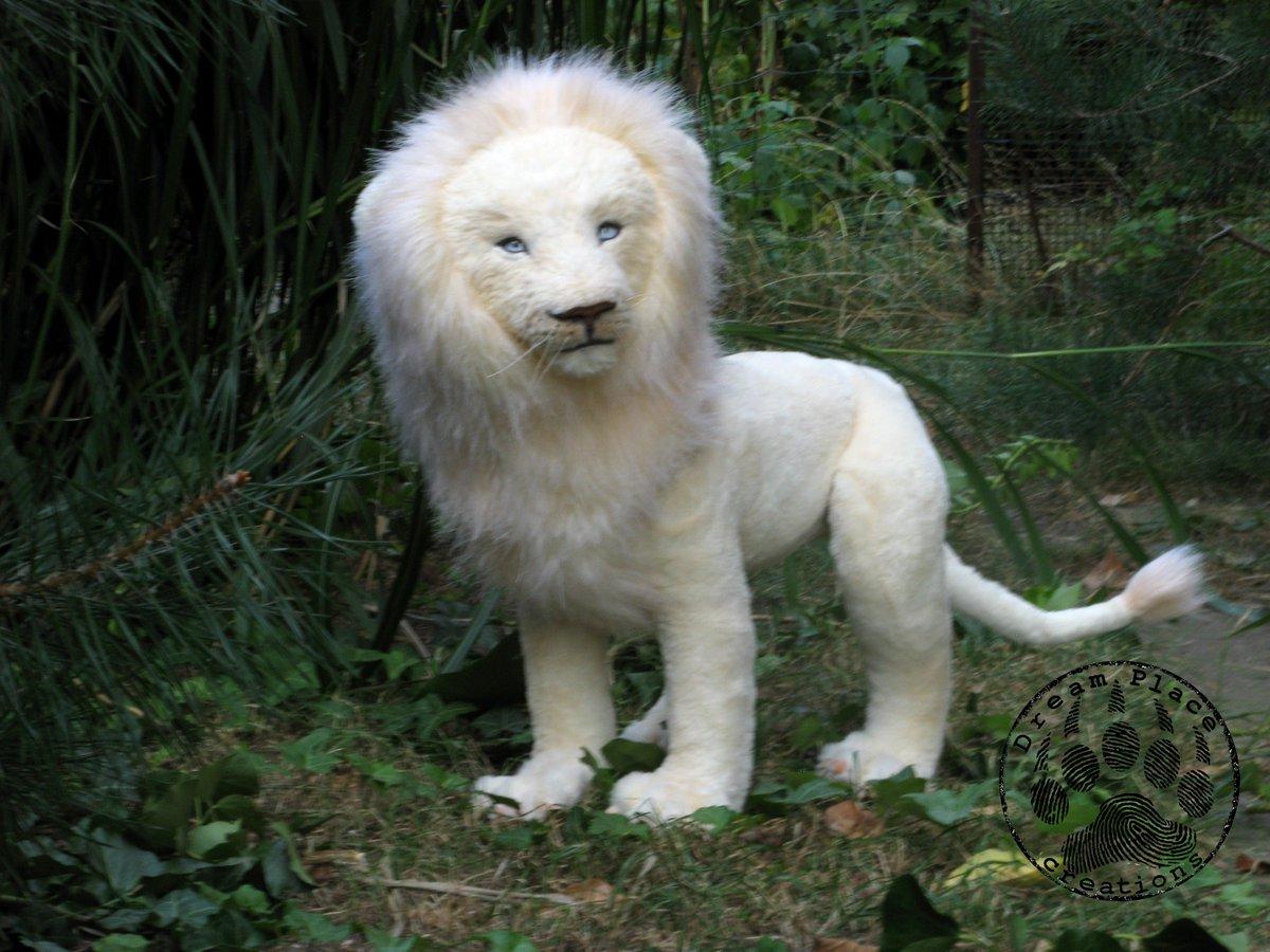White Lion Fantasy Art
