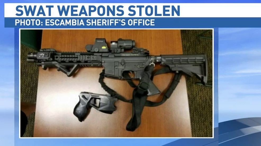 Nbc 15 On Twitter Ecso Deputies Recovered Stolen Swat Weapons