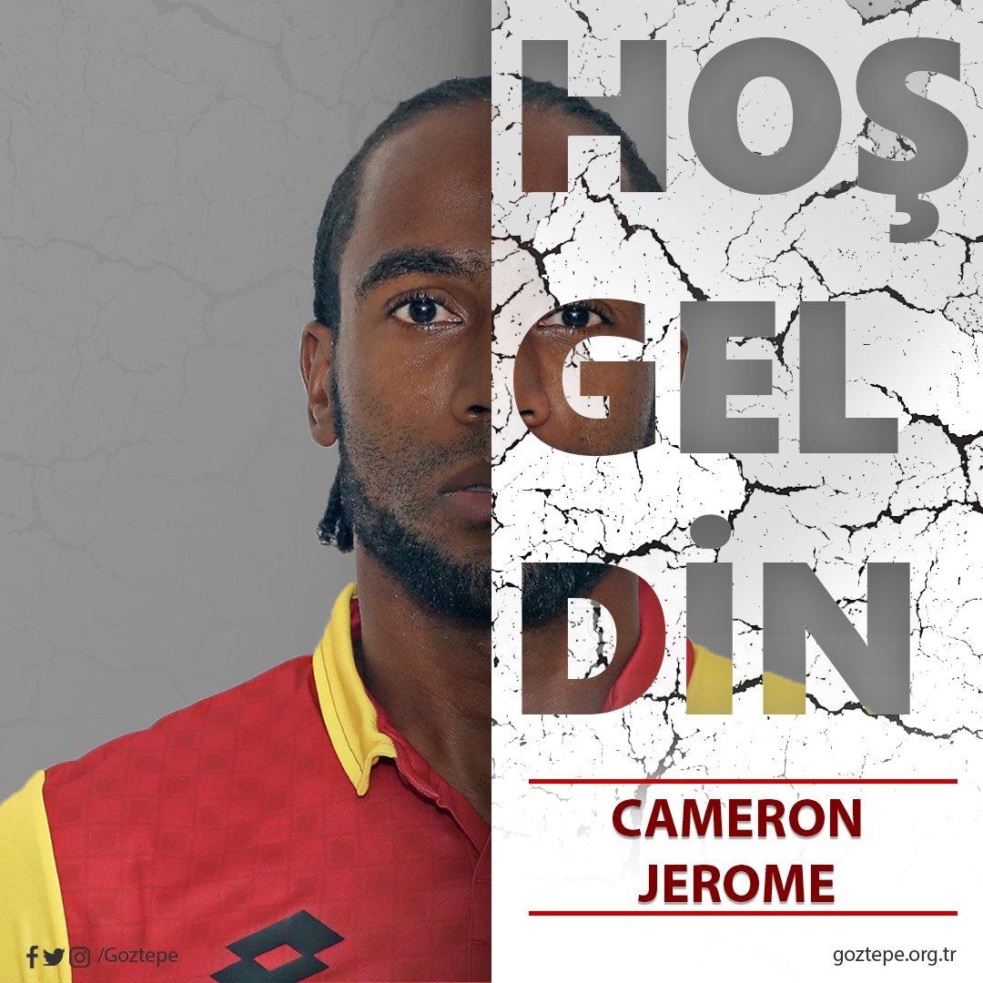 #Transfer: İngiliz oyuncu Cameron Jerome ile 2+1 yıllık sözleşme imzaladık. gozte.pe/2wzFVXA #Göztepe