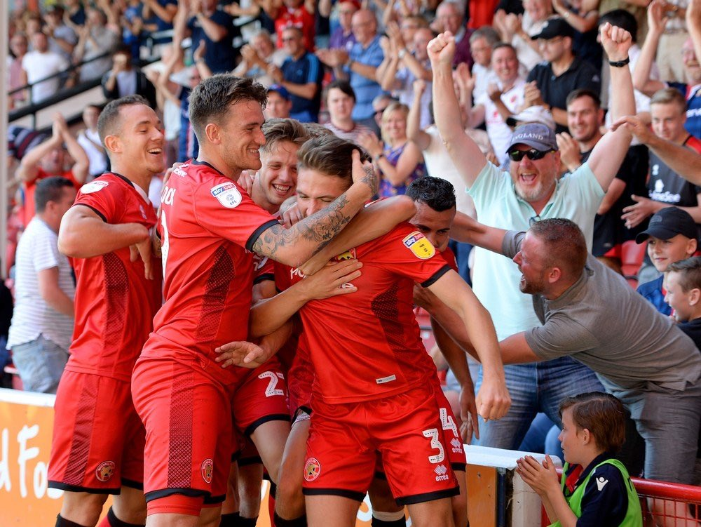 Back to league action tomorrow and hopefully more of this. @WFCOfficial