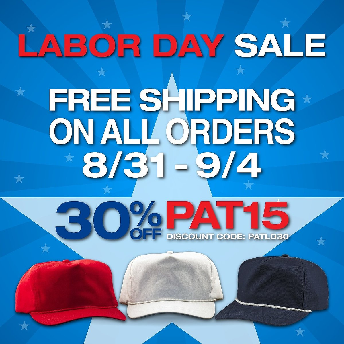 a3d300d6 Style #PAT15 Labor Day Sale is HERE! Free shipping on ALL orders! Also use  code :
