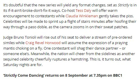 dance similes