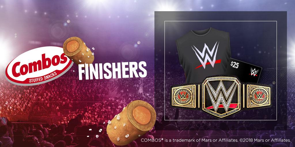 Play @Combos Finishers and you could win @WWE tickets and prizes! https://t.co/bRE2yyAZq9 #sweepstakes