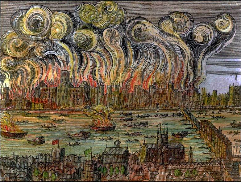 ロンドン 大火