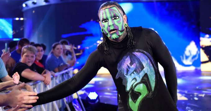 Happy Birthday to Smackdown Live\s Jeff Hardy who turns 41 today!