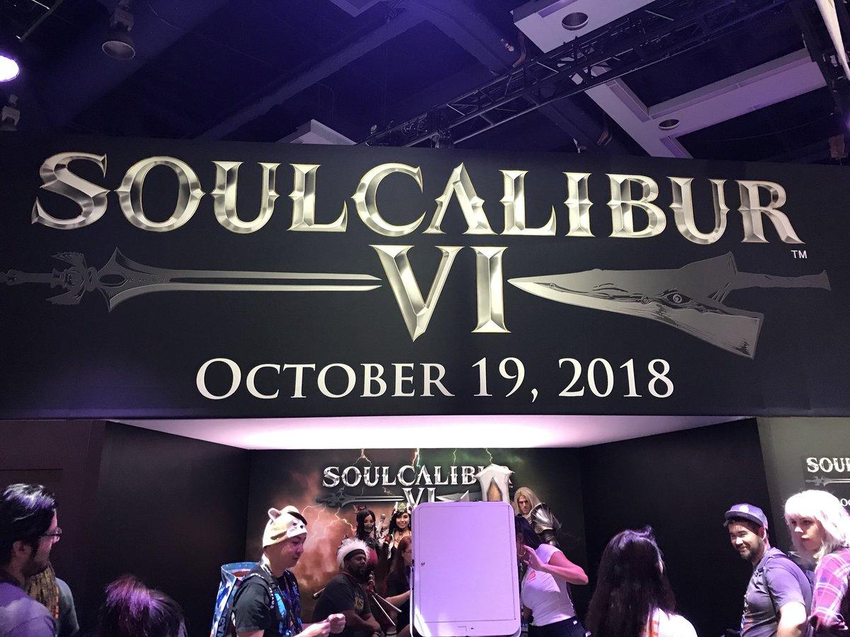 #soulcaliber6 looks so D O P E