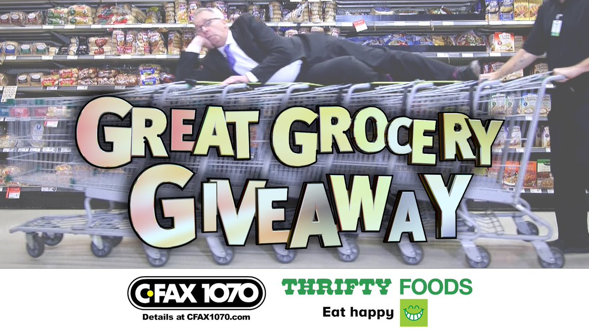Great grocery giveaway 2018