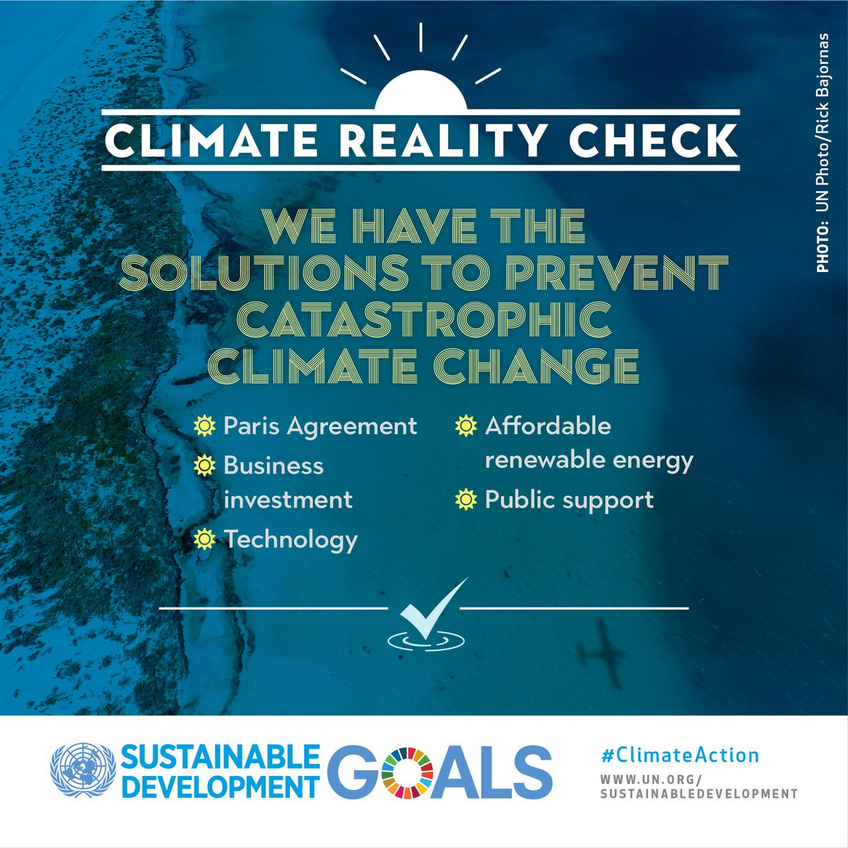 Global Goals On Twitter Can We Fight Climate Change Yes We