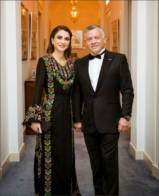 Happy birthday Queen Rania of Jordan  Wishing you many years to come