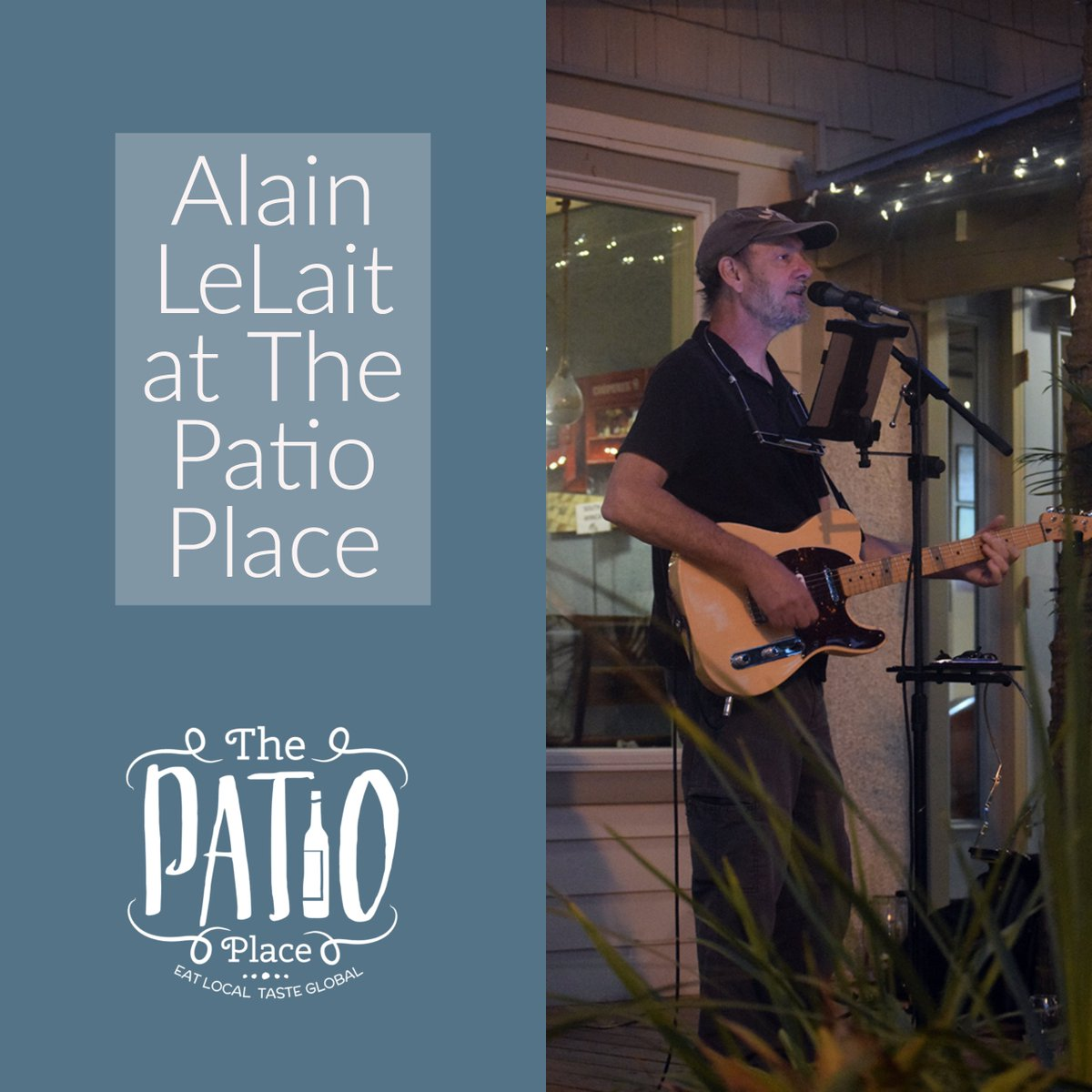 Join Us Saturday Night At The Patio Place For Music With Alain LeLait  6pm 9pm. #downtownfernandinabeach #thepatioplace  #alainlelaitpic.twitter.com/ ...