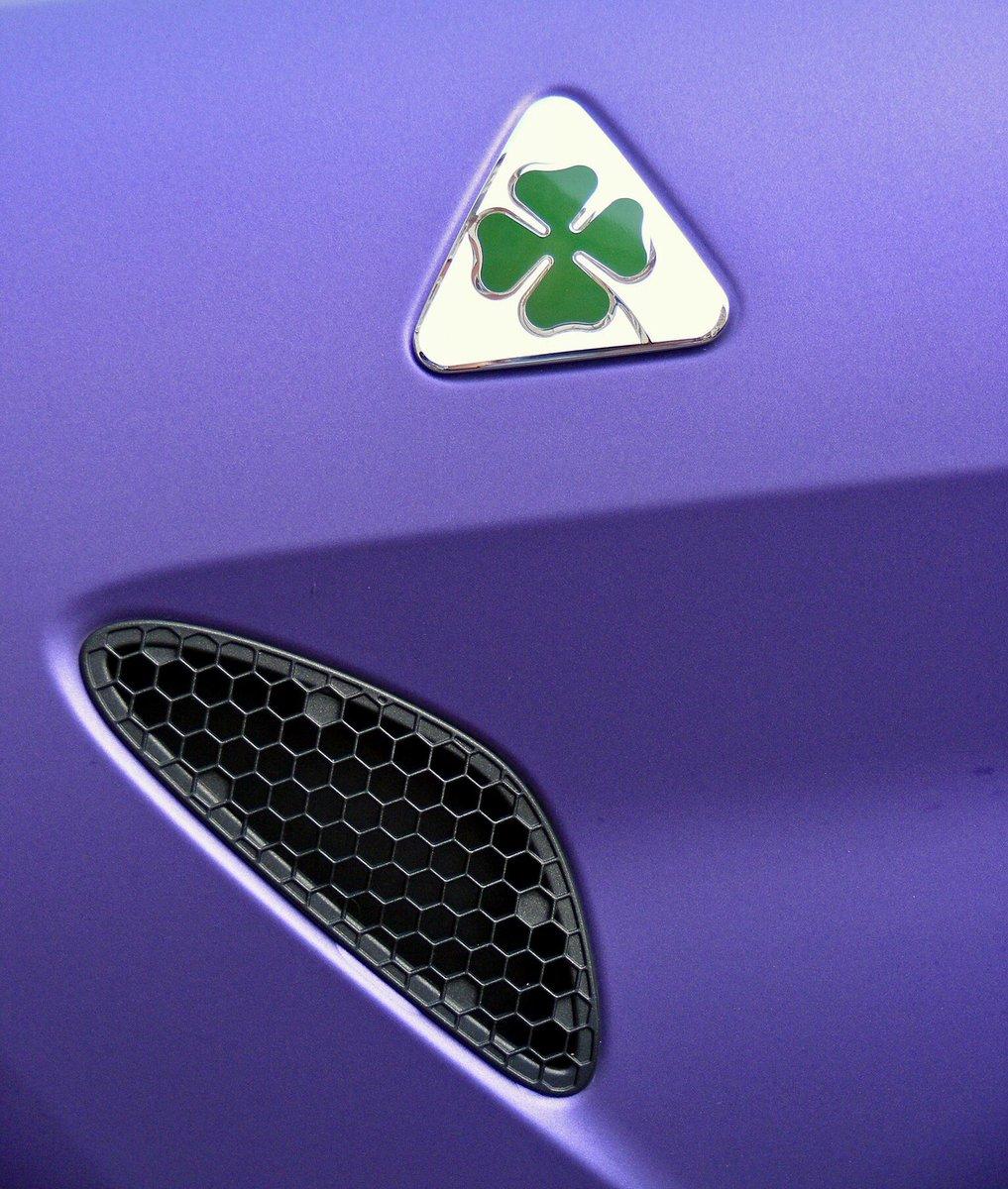 Italian Stallion. #purplization #AlfaRomeo #Giulia #Quadrifoglio #GargashAlfa @ShehabMrG @GargashMotors @F1sasha @ArnoldChatzCars @gumball3000 #gumball3000 #gumballlife