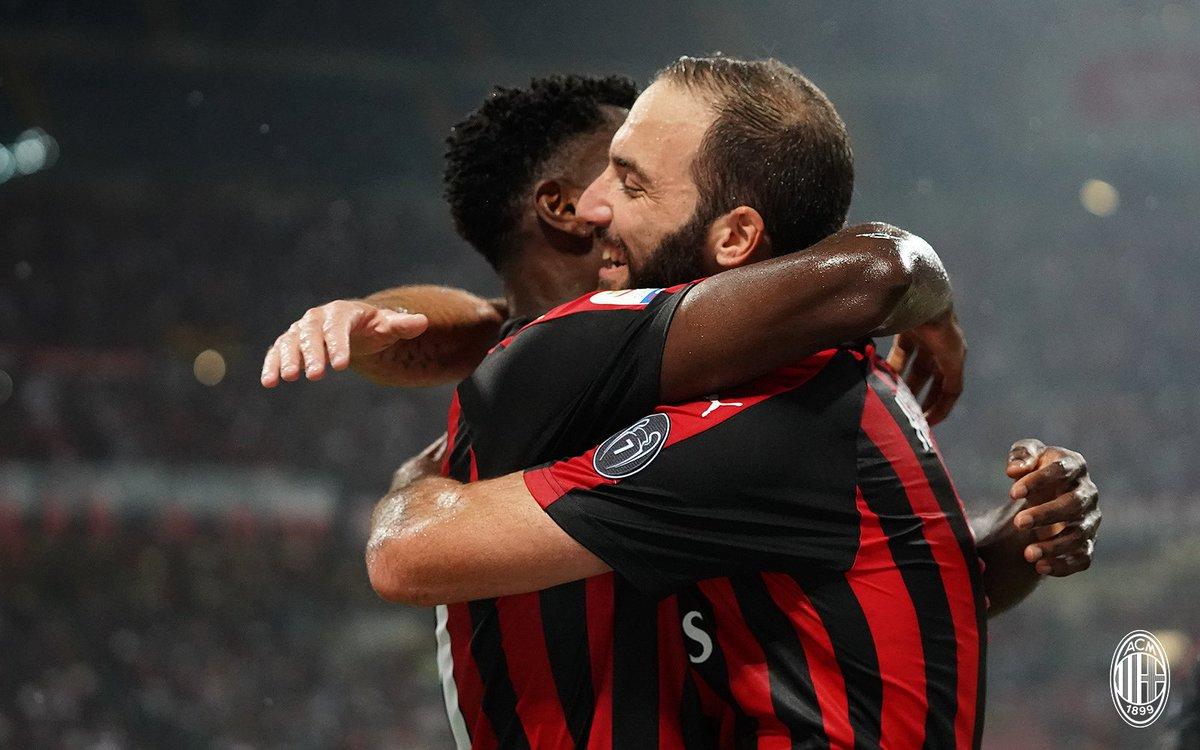 Kết quả AC Milan 2-1 AS Roma: Dấu ấn của Higuain