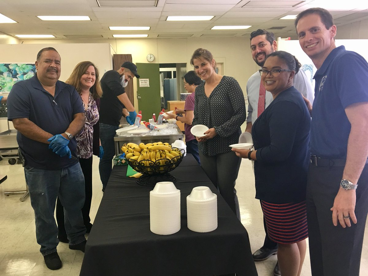 Dr Mary Sieu On Twitter Thank You Nutrition Services For Our Ice Cream Social To Kick Off A New School Year