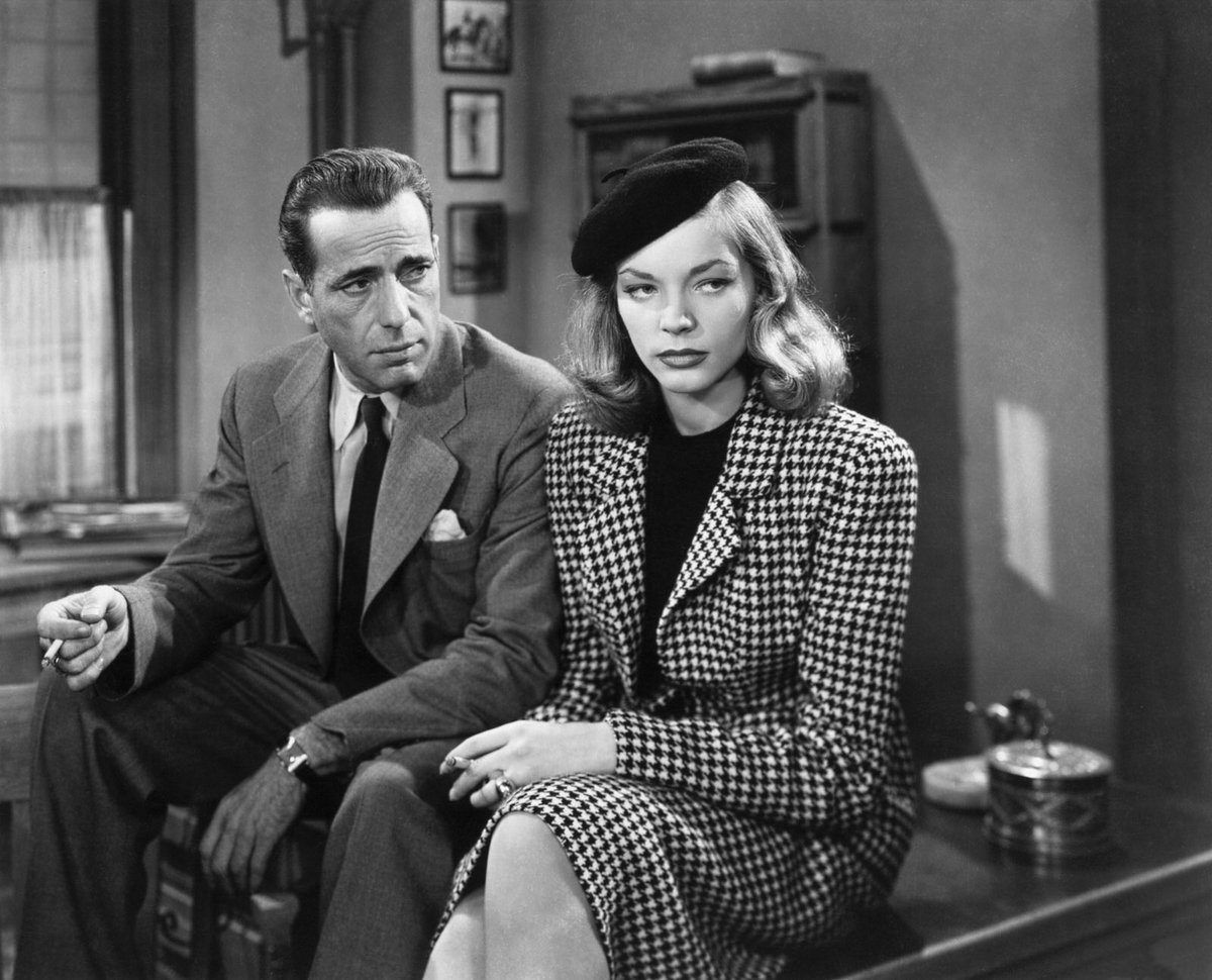 The Big Sleep, the second of four films starring Bogie and Bacall, was released on this day in 1946.