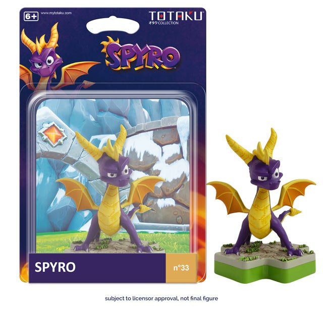 A sigh of relief for #Spyro fans on the #SpyroTheDragon @mytotaku figurine: the previous promotional images of the statue are not final. Weve gotten a inhand look at the statue, but we are currently not sure if its the final figure or a prototype. magic-crafters.world