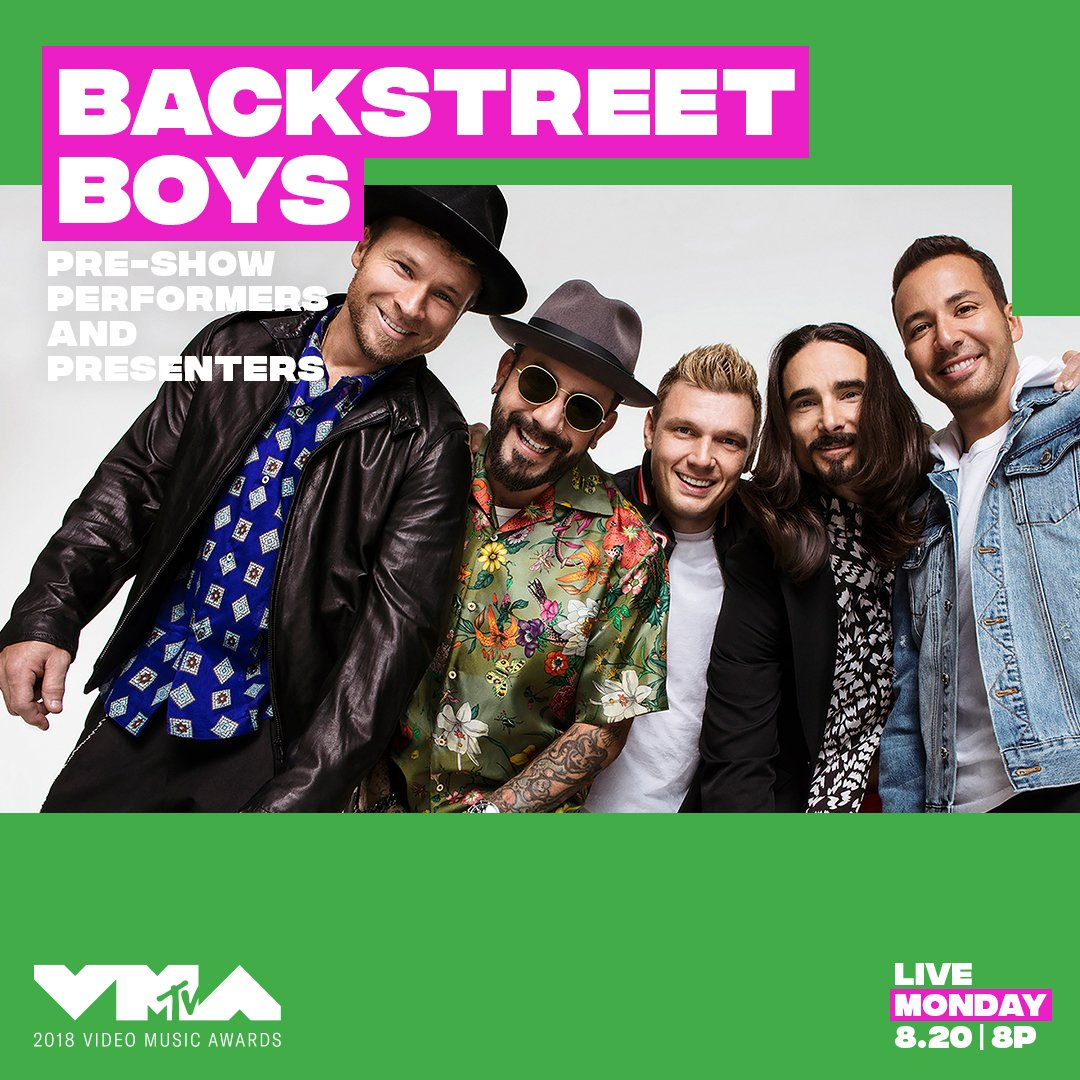 Have you followed the #VMAs IG yet? @backstreetboys are taking over our IG story RIGHT NOW 😎 instagram.com/vmas/