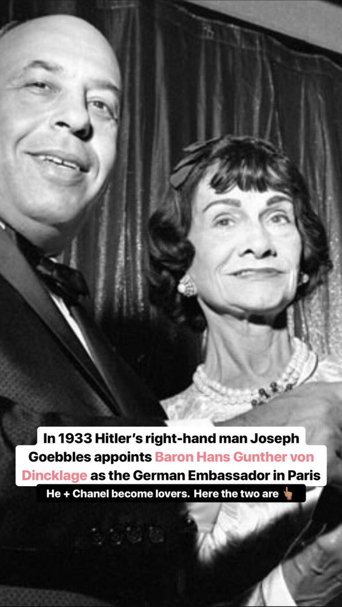 In light of Coco Chanel's birthday today I'm over on my IG Stories sharing a history lesson about her involvement with the Nazi party... Peep it here: instagram.com/bronze_bombshe…