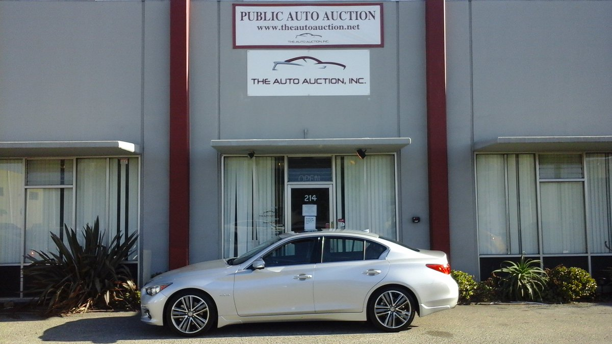 The Auto Auction On Twitter 16 Infiniti Q50 Hybrid For Sealed Bid