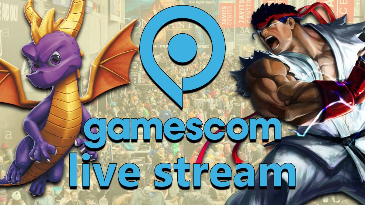 HEY GUYS! So at @gamescom theres gonna be a spyro 3 demo, but I also think that there COULD BE (I am just guessing) a new #spyro Trailer. Im unsure of it HOWEVER If you want to join me at 5am EST (YES 5 AM) to watch all the announcements that would be awesome! #SpyroTheDragon