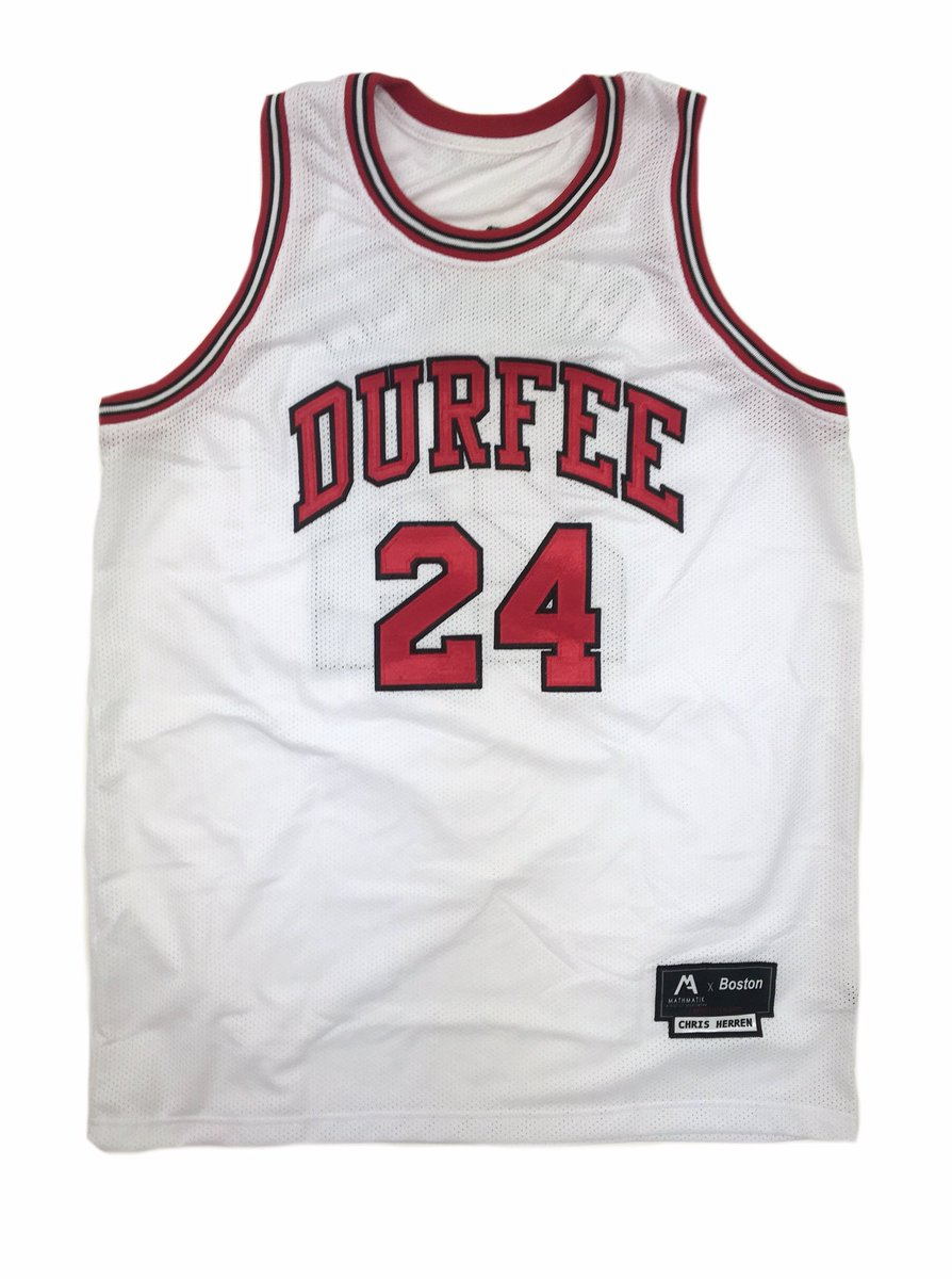 Chris Herren (1990-1994) B.M.C. Durfee High School jersey kit is now  available for preorder. This one s FOR FALL RIVER!   c herrenpic.twitter.com k8MNdxQMH8 9c09fb21b
