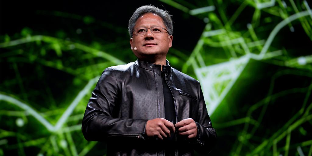 Image result for jensen huang nvidia