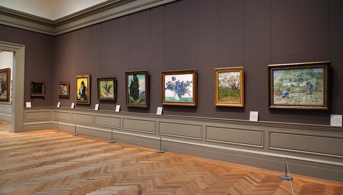 For the first time in several years, all sixteen of the European Paintings  Department's works by Vincent van Gogh are in-house and on view in the galleries for nineteenth-century European paintings. Learn more in this blog post. https://t.co/qE4aowkG4s