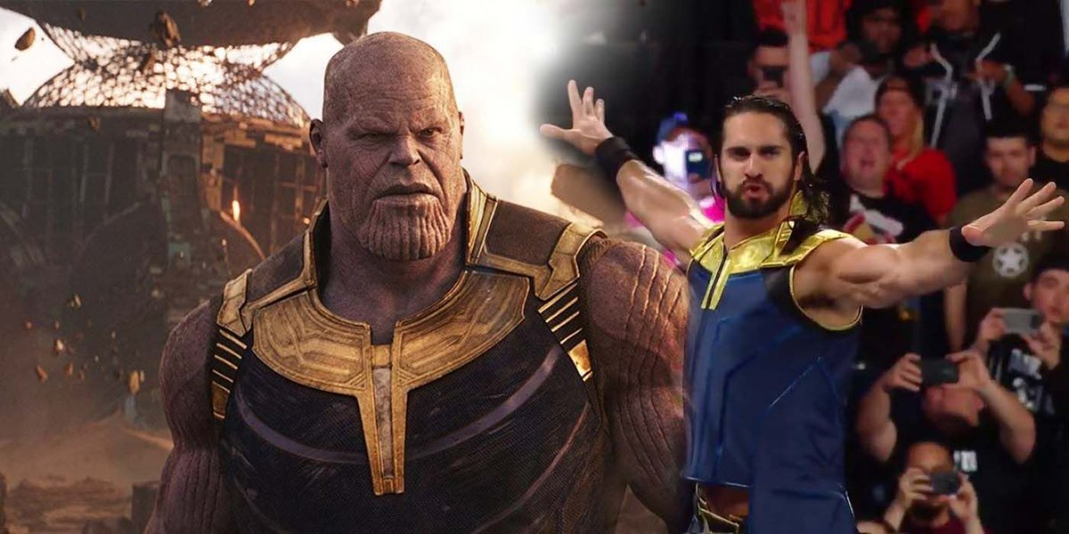 WWEs Seth Rollins Brings Balance to SummerSlam With Thanos-Inspired Gear buff.ly/2nS1HSA