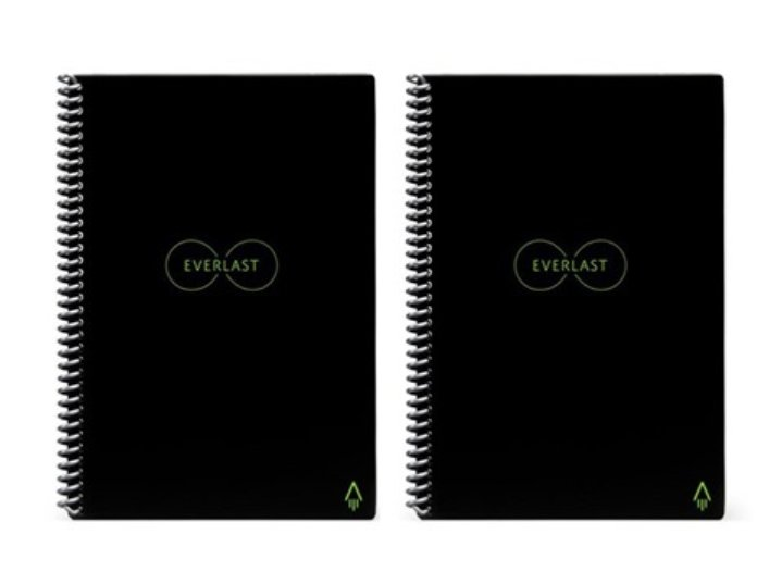 Two-pack of @getRocketbook executive notebooks are on Woot today for 40% off. As a techie that still likes taking paper notes, I LOVE my Rocketbook. #edchat #edtechchat #tlchat