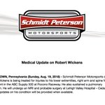 Image for the Tweet beginning: A medical update on Robert