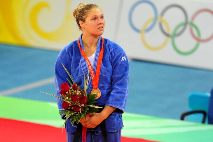 WWE Star Ronda Rousey Supports Simone Biles' Decision To Withdraw Name From 2021 Olympics 2