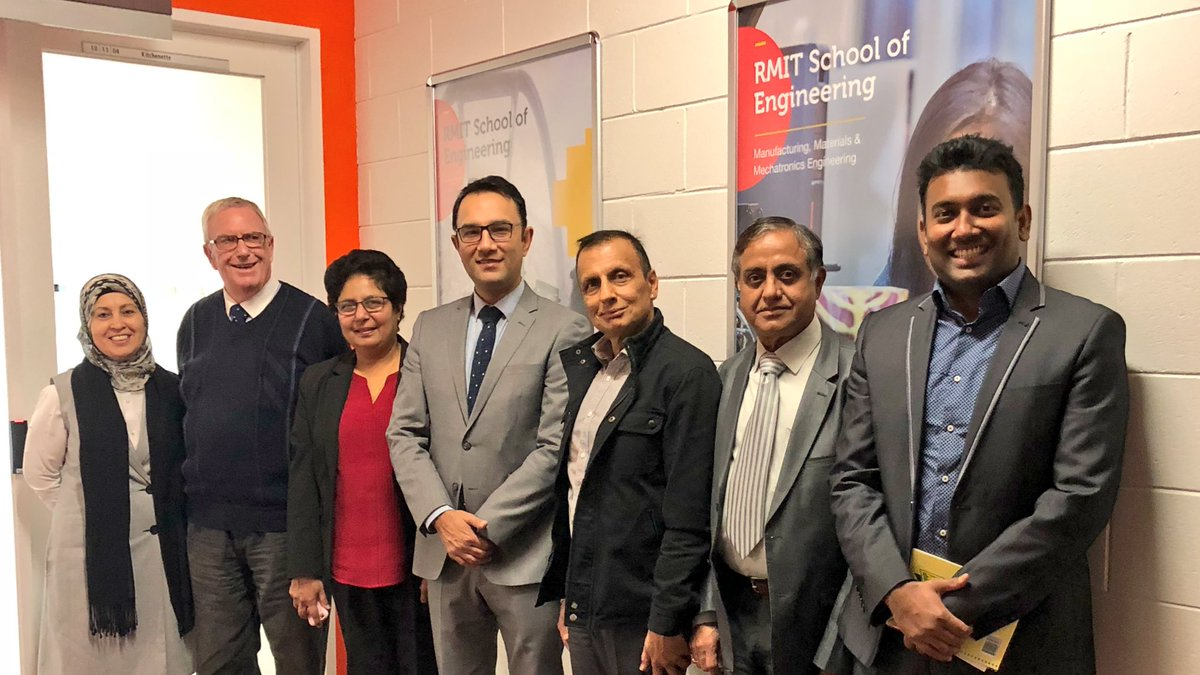 Met a team of professionals at the @RMIT University in #Melbourne. Heard about their interesting projects on Urban water management and environmental engineering. Good areas of cooperation at research and practices. Looking forward for joint projects.