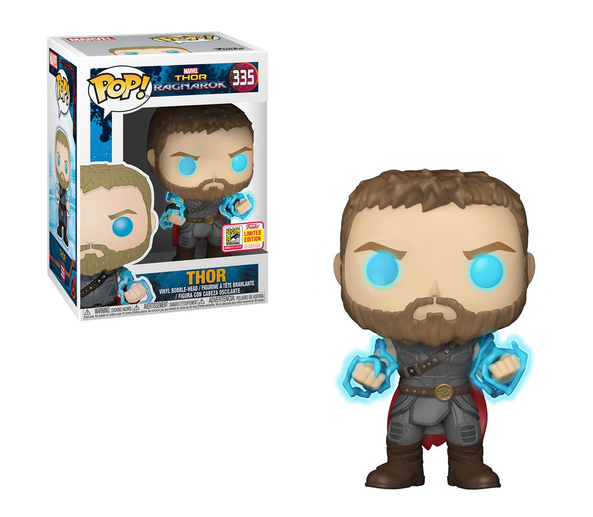 RT & follow @OriginalFunko for a chance to WIN a #SDCC Exclusive Thor Pop!